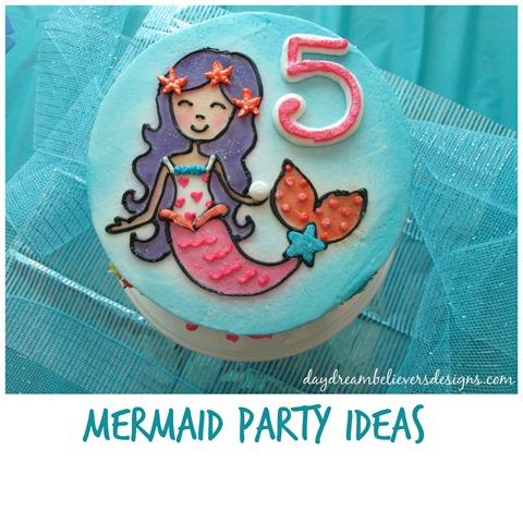 Ideas for hosting a Mermaid Theme Birthday Party