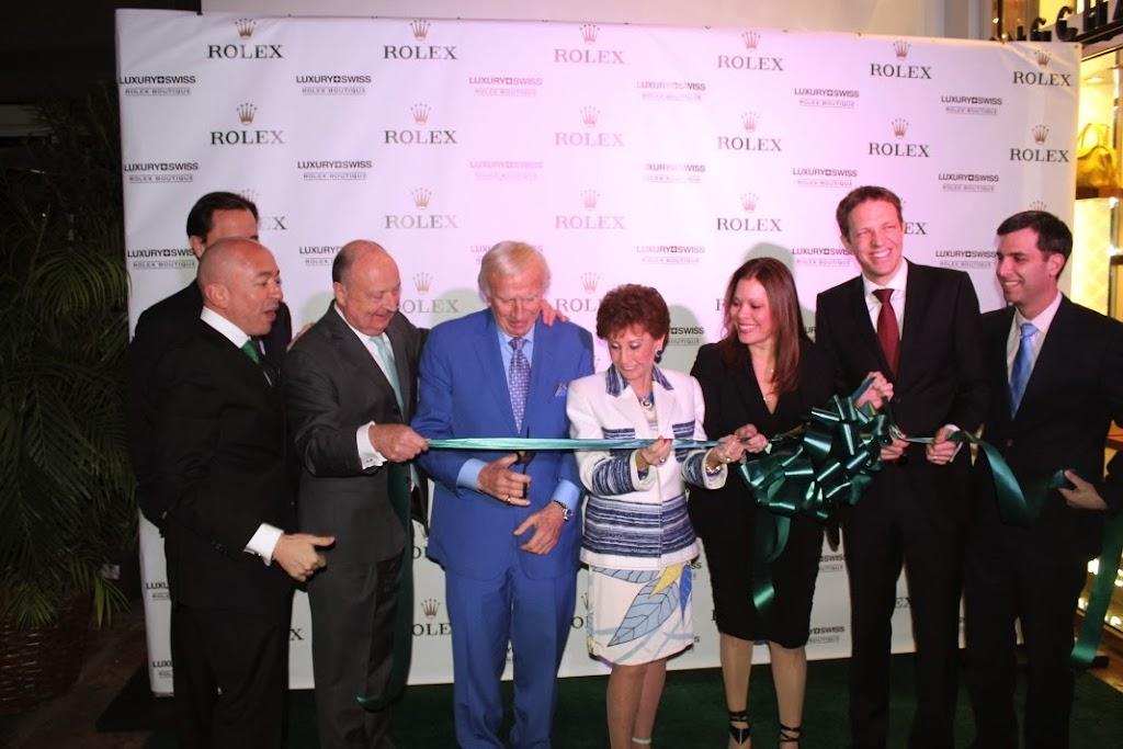 Rolex Miami Boutique Luxury Swiss LLC Ribbon Cutting 12