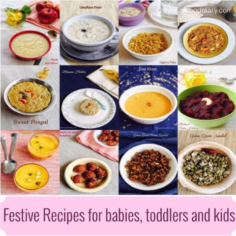 Festive Recipes for babies, toddlers and kids 1