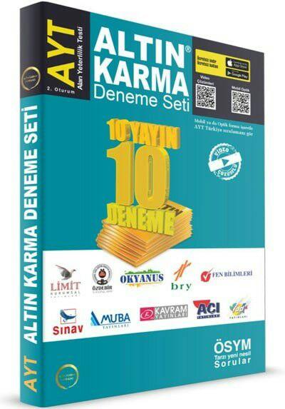 Altın Karma 2020 AYT 10 Deneme Seti
