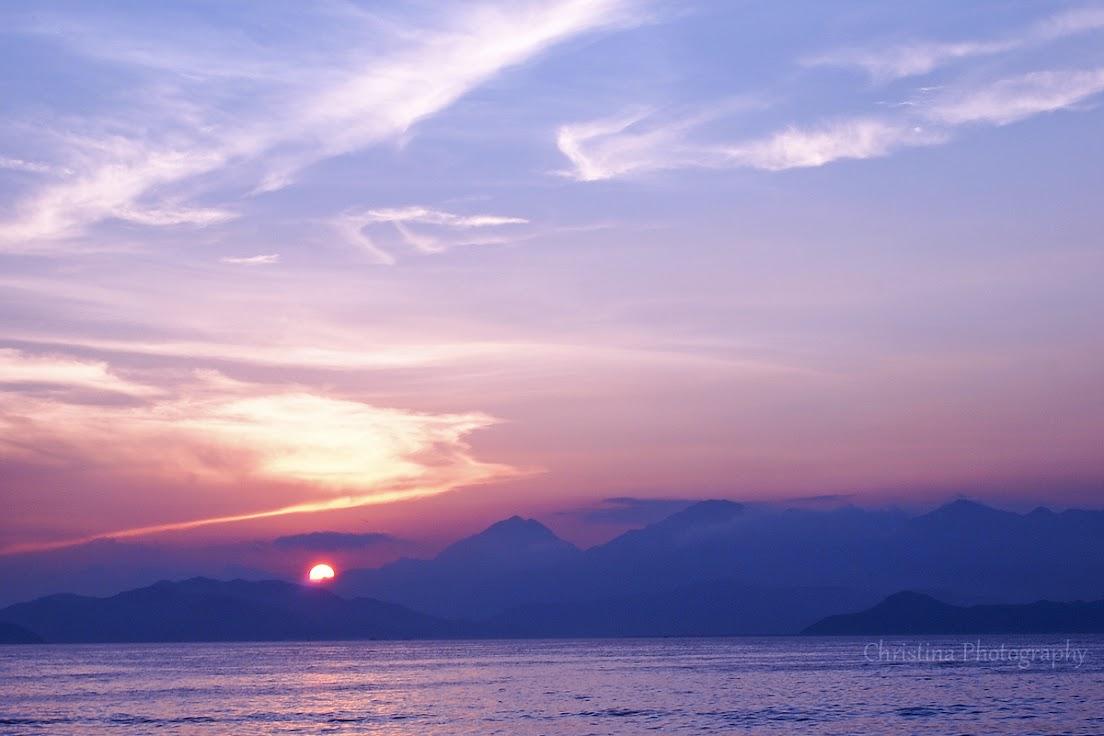 SUNSET, LAMMA ISLAND