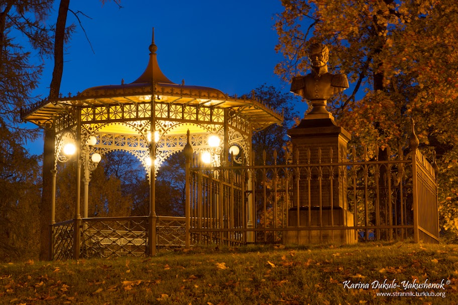 Памятник графа Карла Карловича Сиверса