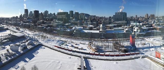 Montreal Ferris Wheel View