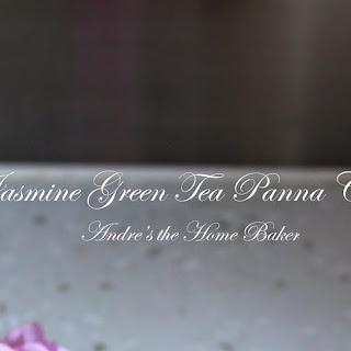 ♥ Jasmine Green Tea Panna Cotta ♥.