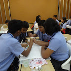Enrichment Hour - Flag Painting at WIS Pawan Baug (Secondary Section)