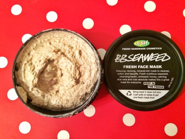 BB Seaweed face mask by Lush