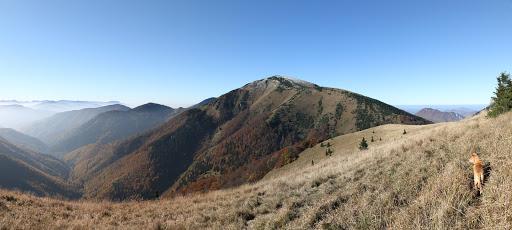 Stoh a dolina Bystrička z Osnice