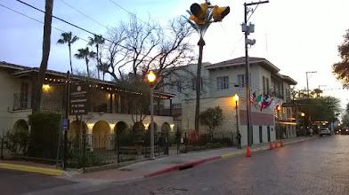 Photo: La Posada at dusk, Laredo
