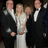 WWW.ENTSIMAGES.COM -     Christopher Biggins, Liz Brewer, Elizabeth Emanuel and Neil Sinclair     at      Steps To The Future - fundraiser at The Hurlingham Club, London November 28th 2014Charity gala evening in aid of Walking With The Wounded and the Restoration of Appearance & Function Trust.                                                   Photo Mobis Photos/OIC 0203 174 1069