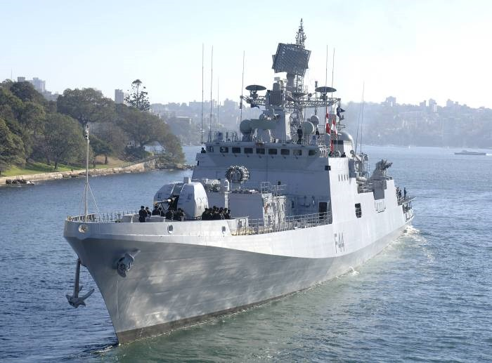 INS Tabar - F44 - Missile Frigate - Indian Navy - 07-TN