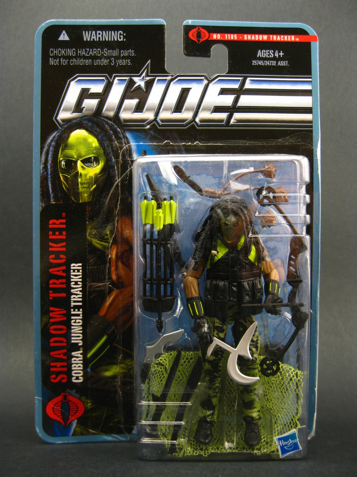Joe Pursuit of Cobra 3 3//4 Inch Action Figure Jungle Assault Recondo G.I