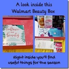 Walmart Summer Beauty Box
