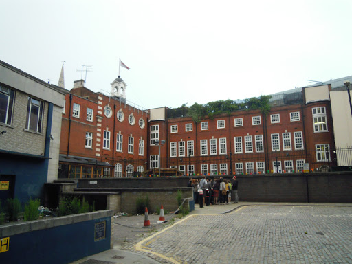 Mitre Square. From the Jack the Ripper walking tour, one of the best walking tours in London