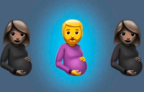 LGTB LE DAN PRIORIDAD: Emojis tendrán a un hombre embarazado, la polémica crece