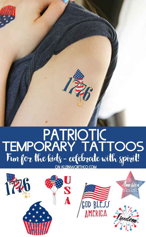Patriotic-Temporary-Tattoos-KleinworthCo-1300