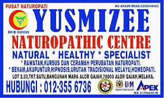 Yusmizee Naturopathic Center,  Alor Gajah Melaka