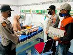Polsek Sangia Wambulu, Teruskan Bantuan Polres Baubau Kepada Nurwati