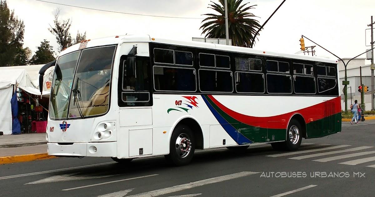 Autobuses urbanos ciudad de m xico mercedes benz operbus for Mercedes benz san pedro