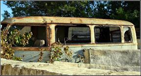 Abandoned Ford Taunus Transit FK1000 van in Malta