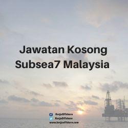Jawatan Kosong Subsea 7