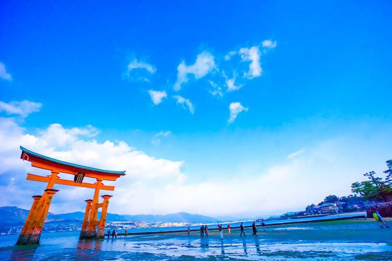 宮島 厳島神社 干潮2