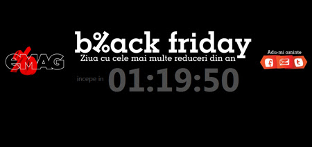 black friday emag Black Friday in Romania