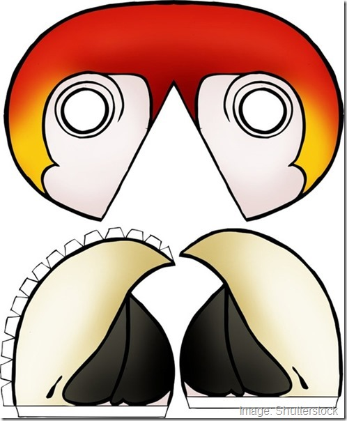 chicldrens-mask-template-bird-exotic-3d-beak-cut-out