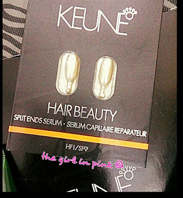 #Keune #HairBeauty Split Ends Serum HF1/SF9