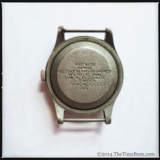 1979 Hamilton GG-W-113 case back