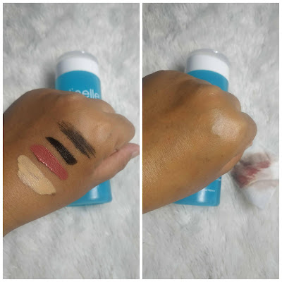 revirew clinelle deep cleansing water