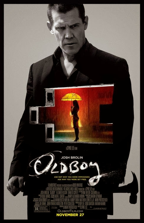 Poster Of English Movie Oldboy (2013) Free Download Full New Hollywood Movie Watch Online At Alldownloads4u.Com