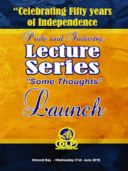 Celebrating Fifty Years of Independence, Pride and Industry, Lecture Series Launch, Wednesday 1st June, 2016 at Almond Bay, Hastings, Christ Church