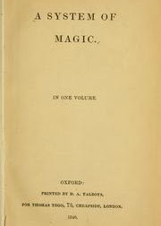 Cover of Daniel Defoe's Book A System of Magic
