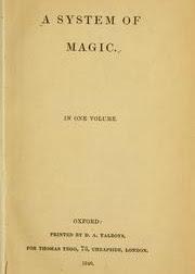 Cover of Daniel Defoe's Book A System of Magic