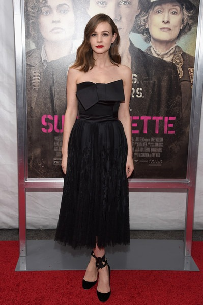 Carey Mulligan Suffragette New York Premiere