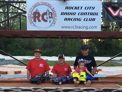 2WD SCT - 1st: Tyler Ernst, 2nd: Tyler Schrimsher, 3rd: Richard Allan Beatty