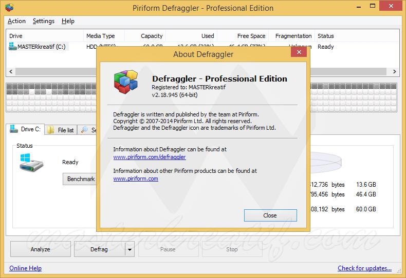 Defraggler Professional 2.18