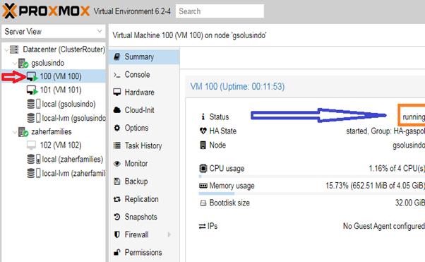 High Availability (HA) For PROXMOX VE 6.2