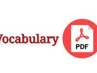 ১৯৯২ থেকে ২০১৬ সাল পর্যন্ত বিভিন্ন নিয়োগ পরীক্ষায় আসা Vocabulary - PDF ফাইল