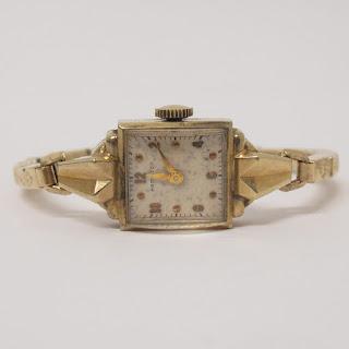 14K Gold Case Vintage Hamilton Watch