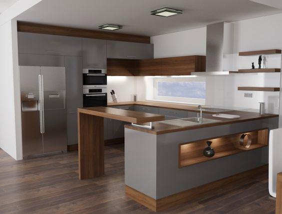 18 ideas de diseño de cocinas pequeñas