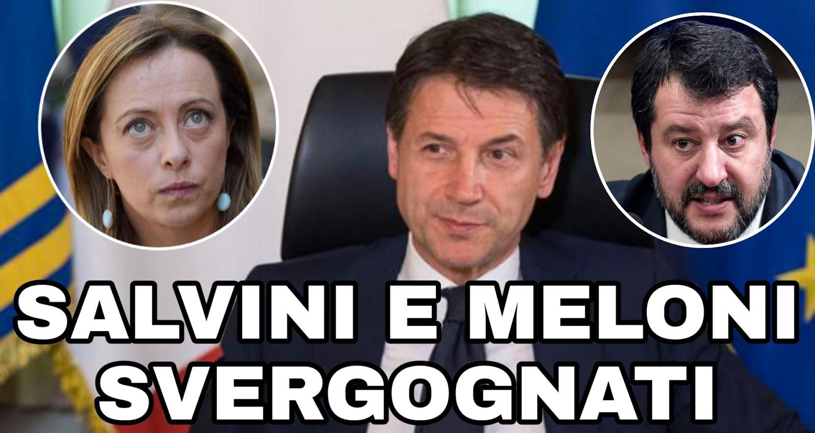 """Conte sfotte Meloni e Salvini citando Ecce Bombo di Nanni Moretti: """"Mi si nota di più…"""""""