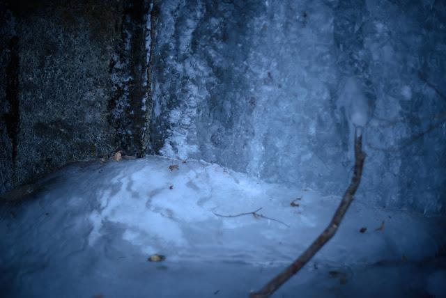 三つ峠 沢 凍結
