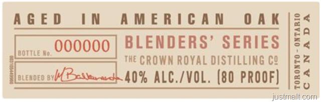 Crown Royal The Blenders' Series Blender's Mash