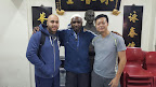 Kamran Khan, Sifu Garry Mckenzie and Sifu John Wong Hong Chung.