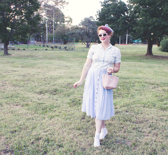 1950s playtime! Vintage and modern mix | Lavender & Twill