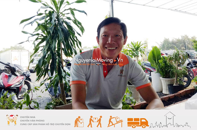 Nhân viên NguyenloiMoving thân thiện