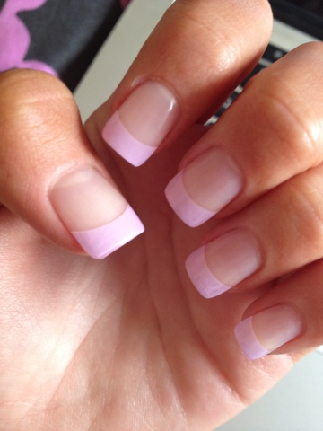 Acrylic Nails Colored Tips   Best Nail Designs 2018