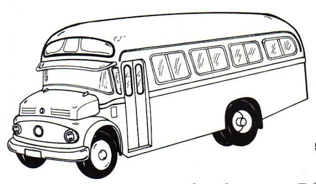 Dibujos De Transporte Para Colorear