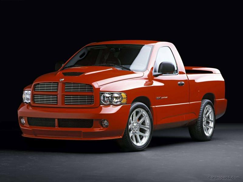 2005 dodge ram pickup 1500 srt 10 specifications pictures prices. Black Bedroom Furniture Sets. Home Design Ideas